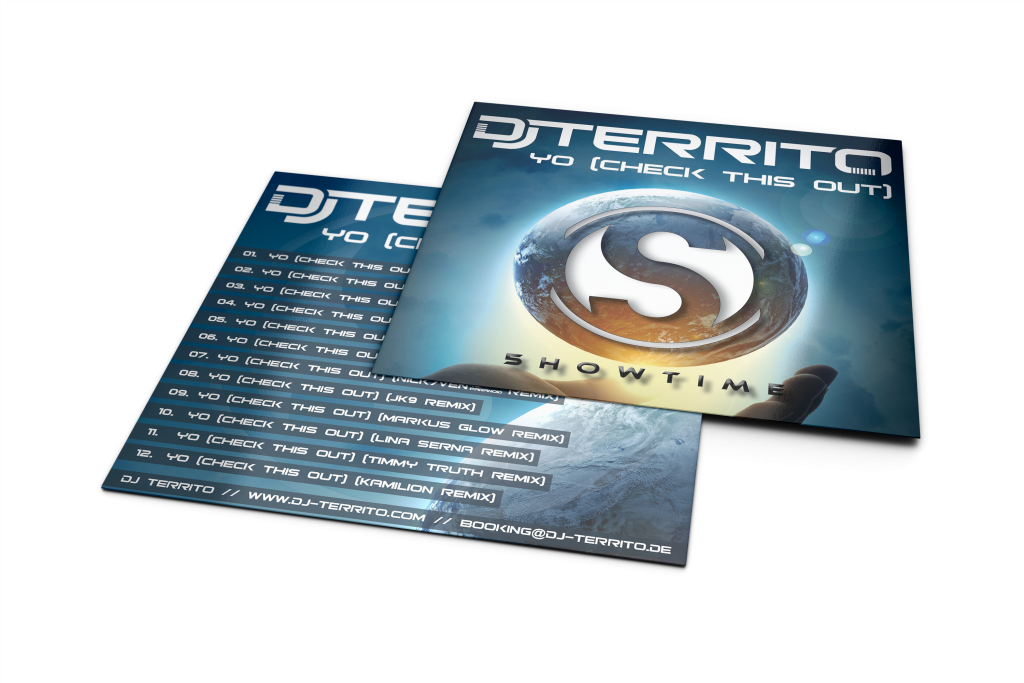 Dj Territo - Yo (Check This Out) CD